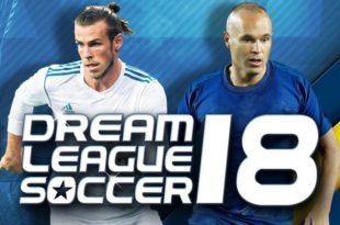 لعبة dream league 2018