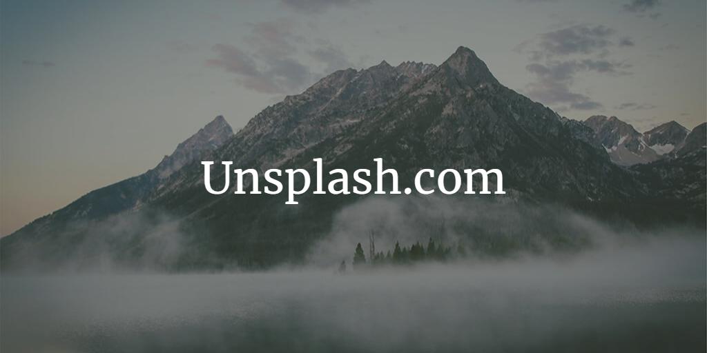 unsplash موقع تحميل صور مجانية